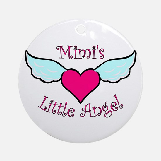 Mimi's Little Angel Ornament (Round)