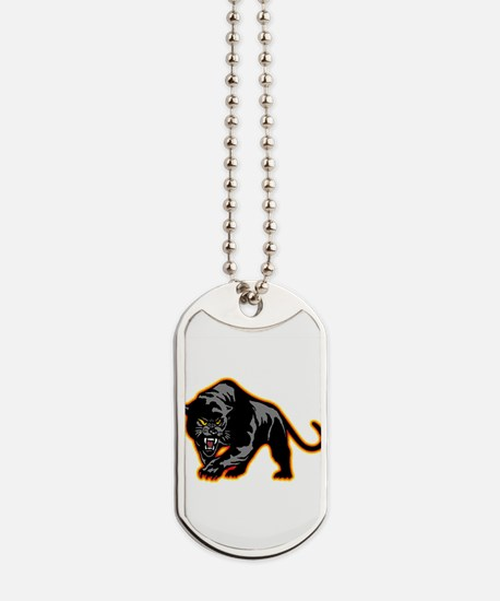 Black Panther Dog Tags