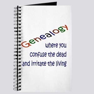 Genealogy Confusion (blue) Journal