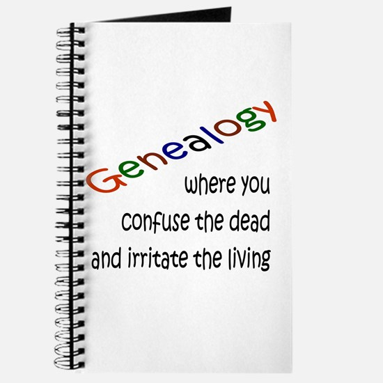 Genealogy Confusion (blk) Journal
