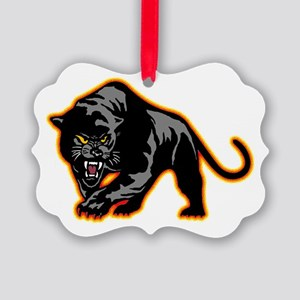 Black Panther Picture Ornament