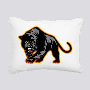 Black Panther Rectangular Canvas Pillow