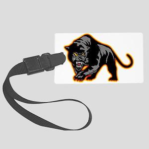 Black Panther Large Luggage Tag