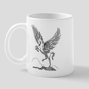 Pegasus Illustration Mug