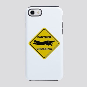 Panther Crossing Sign iPhone 8/7 Tough Case