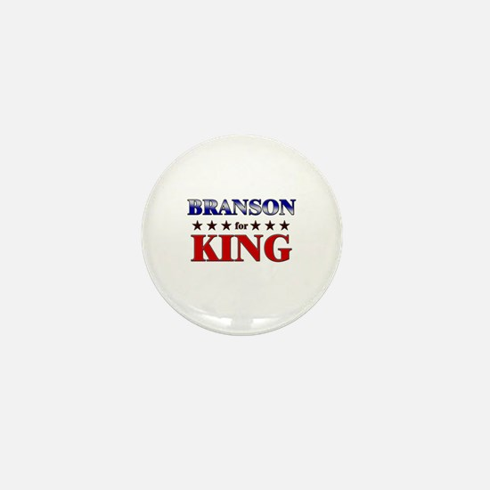 BRANSON for king Mini Button