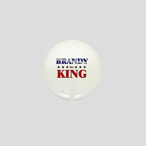 BRANDY for king Mini Button