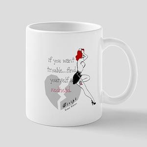 Redhead Bad Girl Mug
