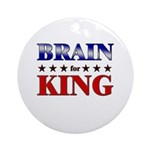 BRAIN for king Ornament (Round)