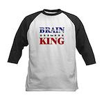 BRAIN for king Kids Baseball Jersey