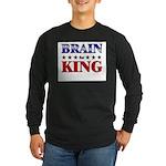 BRAIN for king Long Sleeve Dark T-Shirt