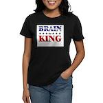 BRAIN for king Women's Dark T-Shirt
