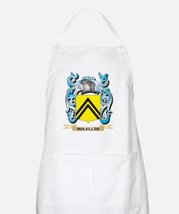 Mclellan Coat of Arms - Family Crest Light Apron
