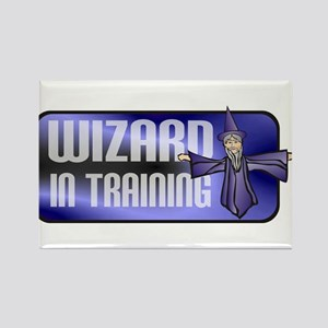 Wizard Rectangle Magnet