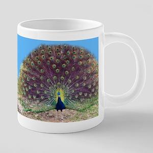 Pretty Peacock Mug Mugs