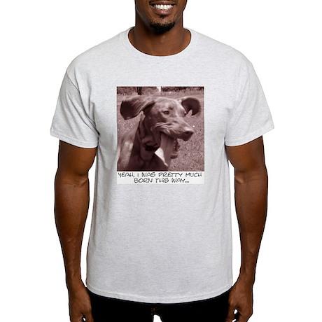 Crazy dog (vizsla) Ash Grey T-Shirt
