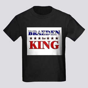 BRAEDEN for king Kids Dark T-Shirt