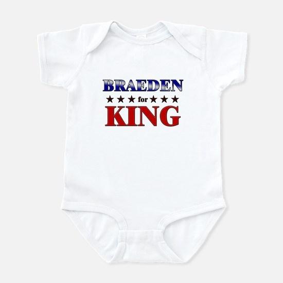 BRAEDEN for king Infant Bodysuit