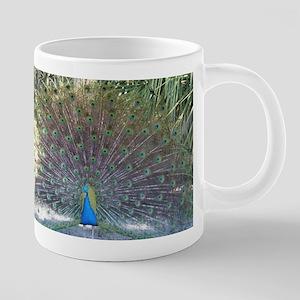 Posing Peacock Mugs