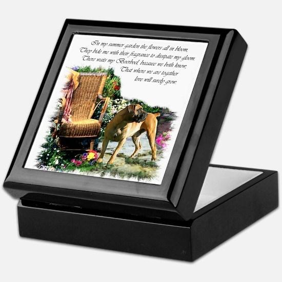 Boerboel Art Gifts Keepsake Box