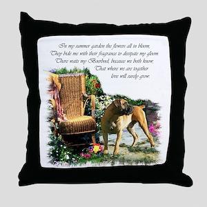 Boerboel Art Gifts Throw Pillow