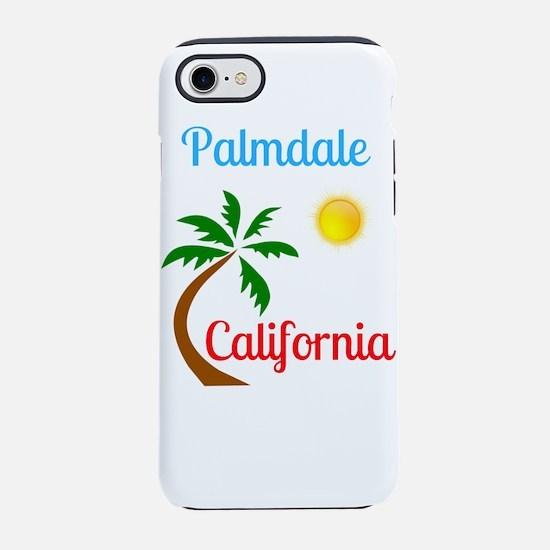 Palmdale California Palm Tre iPhone 8/7 Tough Case
