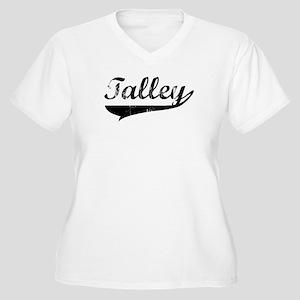 Talley (vintage) Women's Plus Size V-Neck T-Shirt
