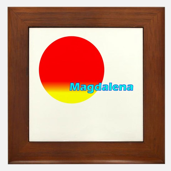 Magdalelena Framed Tile