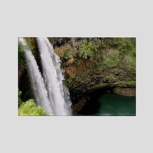 Wailua Falls, Kauai, HI Rectangle Magnet