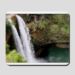Wailua Falls, Kauai, HI Mousepad