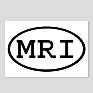 MRI Oval Postcards (Package of 8)