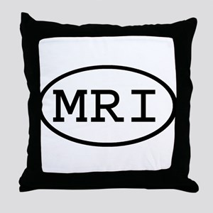 MRI Oval Throw Pillow