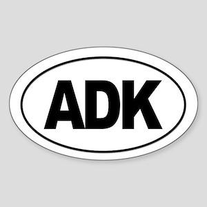 Adirondack ADK Sticker (Oval)
