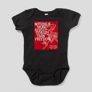 Debs Caucus 1970 Poster Infant Bodysuit Body Suit