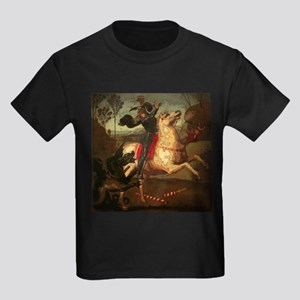 St. George Fighting Dragon Kids Dark T-Shirt