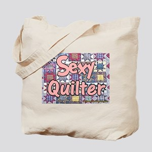 Sexy Quilter Tote Bag