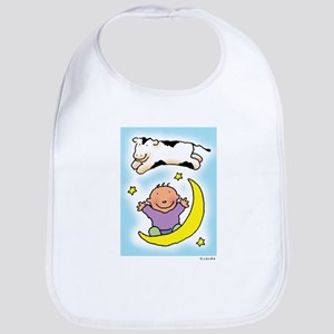 cow jumping over the baby Bib