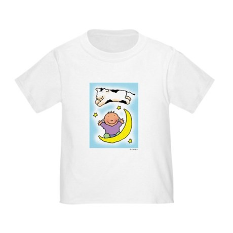 cow jumping over the baby Toddler T-Shirt