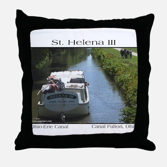 St. Helena III Throw Pillow