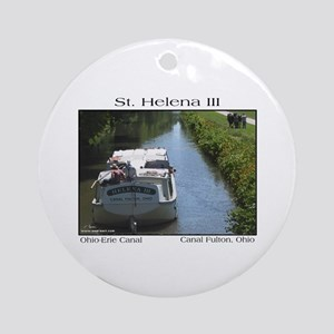 St. Helena III Keepsake (Round)