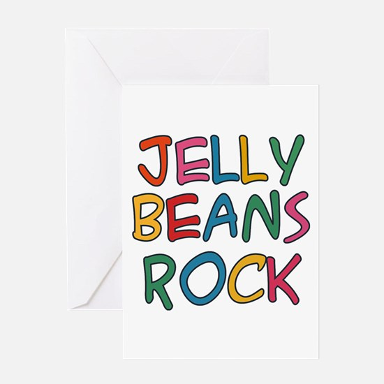Jelly Beans Rock Greeting Card