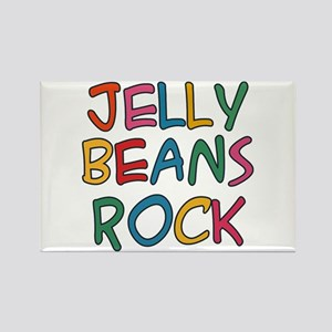 Jelly Beans Rock Rectangle Magnet