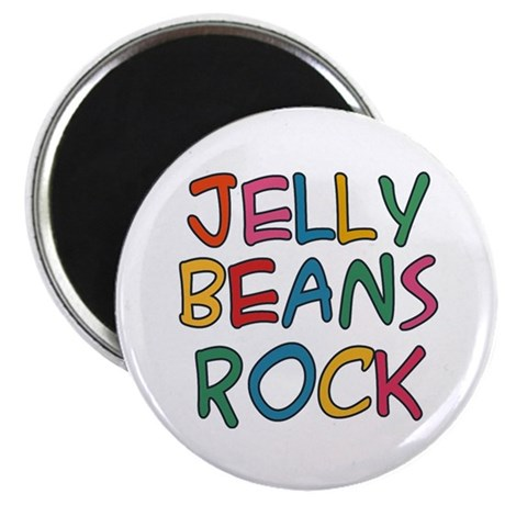 Jelly Beans Rock Magnet