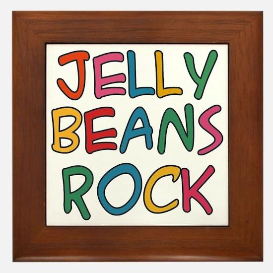 Jelly Beans Rock Framed Tile