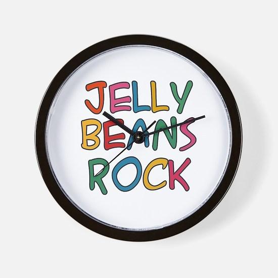 Jelly Beans Rock Wall Clock