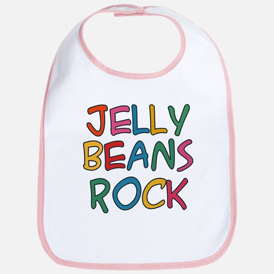 Jelly Beans Rock Bib