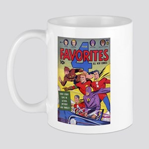 $14.99 Classic Four Favorites Mug