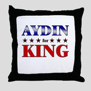 AYDIN for king Throw Pillow