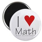 "I Love Math! 2.25"" Magnet (10 pack)"