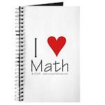 I Love Math! Journal